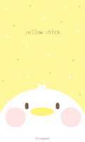 Screenshot of Yellow Chick go launcher theme