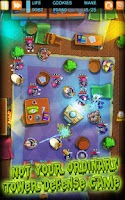 Screenshot of Garfield Zombie Defense
