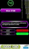 Screenshot of Computer Quiz Game