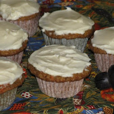 Martha's Carrot Cupcakes With Cream Cheese Frosting