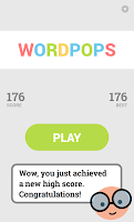 Screenshot of WordPops