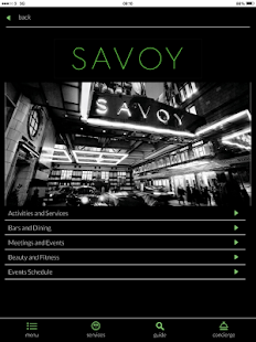 The Savoy - screenshot