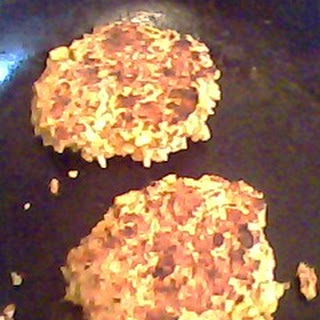 Nutty Bean-Rice Burgers