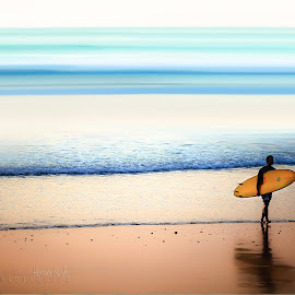 Walking into my DREAM by Hussain AlTarouti - Sports & Fitness Surfing ( sexy, waterscape, colors, popular, landscape,  )