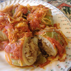 Sweet and Sour Cabbage Rolls With Sauerkraut