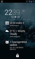 Screenshot of DashClock Agenda