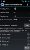 Screenshot of FlashTutor