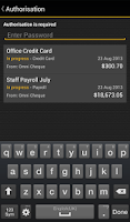 Screenshot of ASB Mobile Business