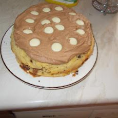 Choc Chip Cake With Chocolate Butter Icing