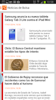 Screenshot of elEconomista Bolsa