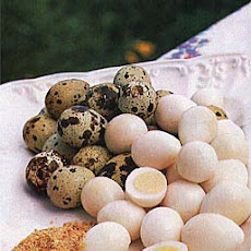 Quail Eggs with Toasted-Sesame Salt