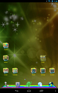 ColorMix Thu GO Launcher Theme - screenshot