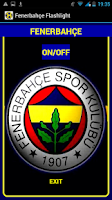 Screenshot of Fenerbahçe Flashlight Torch
