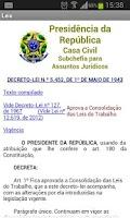 Screenshot of CLT - Brasil