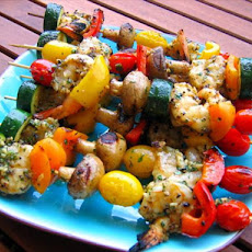 Grilled Pepper Garlic Shrimp