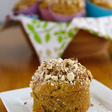 Sugar-Free (or Not) Peach and Vanilla Muffins
