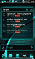 Screenshot of GOWidget ElectricCyan ICS-Free