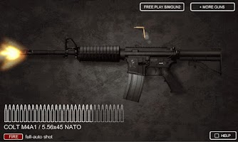 Screenshot of Sim Gun M4A1