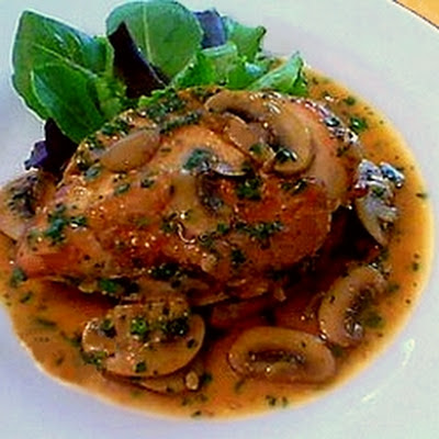 Chicken Marsala a la Ryan's Cafe