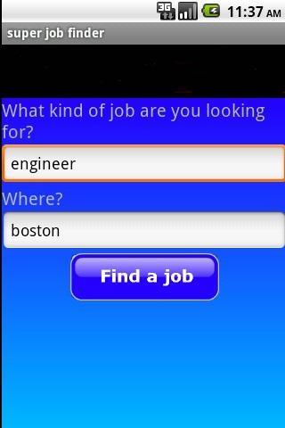 super job finder