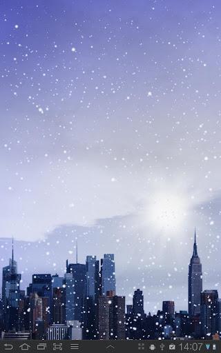Winter Cities Live Wallpaper
