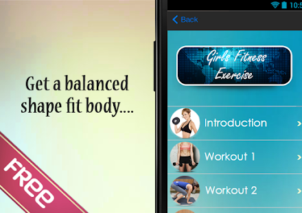 Girls Fitness Exercise - Tips - screenshot