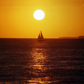 Key West Sunset by Douglas Payne - Novices Only Landscapes