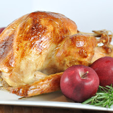 Roasted {Brined} Turkey and Gravy