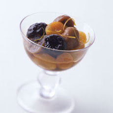 Dried-Fruit Compote with Vanilla and Orange