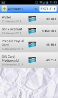 Screenshot of My Expenses Pro