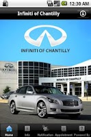 Screenshot of Infiniti of Chantilly