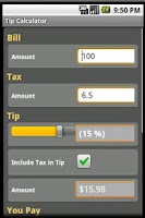 Screenshot of Calculators Pack Pro