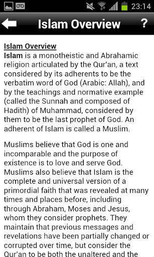 【免費生活App】101 Islamic Facts-APP點子