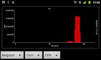 Screenshot of Radioactivity Counter