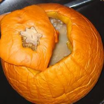Sweet Stuffed Pumpkin