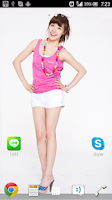 Screenshot of SNSD Live Wallpaper2