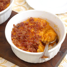 Bacon and Brown Sugar-Topped Sweet Potato Casserole