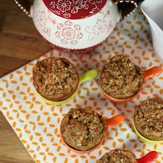 Pumpkin Butter Oatmeal French Toast Muffins