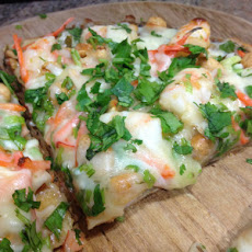 Thai Shrimp Pizza