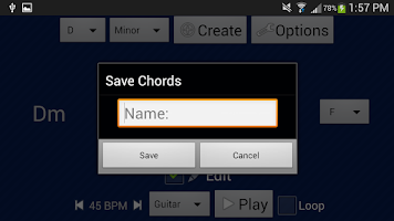 Screenshot of SongWriter