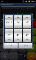 Screenshot of Radioactive Decay Calculator
