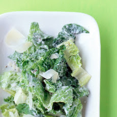 Romaine Salad with Caesar Dressing