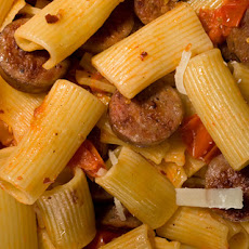Pasta with Caramelized Tomatoes and Sausage Recipe