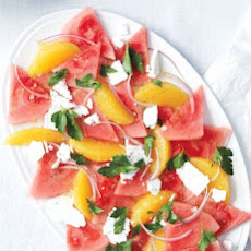 Watermelon, Orange, and Feta Salad