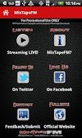 Screenshot of MixTapeFM™  HipHop & RnB Radio