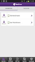 Screenshot of NetCom Trådløs Bedrift