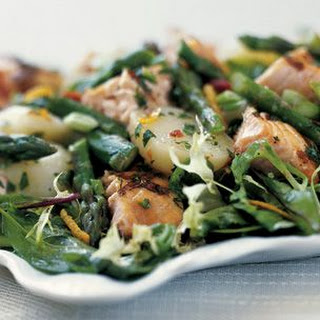 Salmon, Red Potato and Asparagus Salad