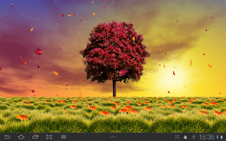 Screenshot of Autumn Trees Live Wallpaper