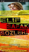 Screenshot of ELİF ŞAFAK SÖZLERİ