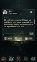 Screenshot of GO SMS Pro Fox Theme EX